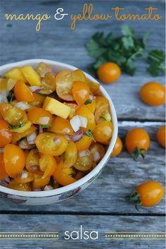 Recipe: Mango and Yellow Tomato Salsa