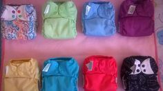 FOR SALE: 5 Bumgenius Freetimes in Girl Color/Print | Cloth Diaper Trader