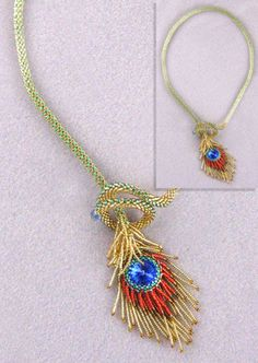peacock feathers, bead patterns, feather necklac, seed beads, bead peacock, peacock beads, peacocks feathers, peacock design, bead necklaces