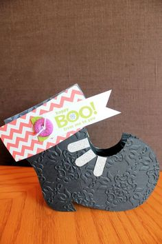 Stampin' Up! Halloween Witch's Boot