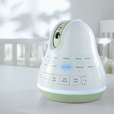 Tranquil Moments helps babies sleep while allowing parents to monitor them.