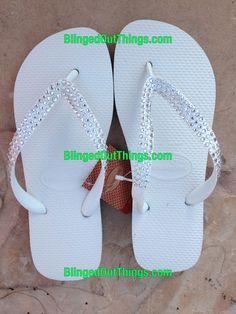 Custom Bling Flip Flops...Hott
