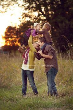 family poses @Norkeita Goins Strong