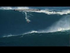World record: Garrett McNamara Surf Biggest Wave Ever  Portugal, november 2011