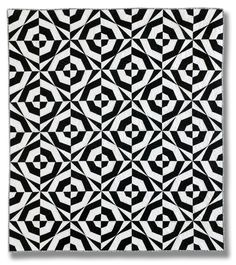 Drunk Zebra quilt pattern by happier than a bird quilts