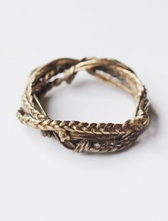Braided Bangle by Cisthene