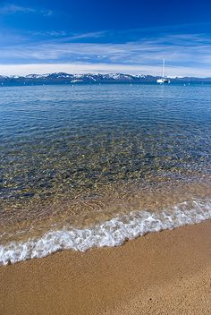 Lake Tahoe Beach, California