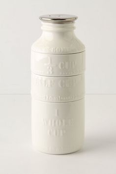 Milk Bottle Measuring Cups #anthropologie