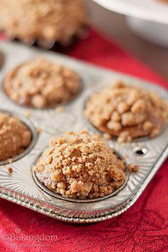 Pumpkin Gingerbread Muffins