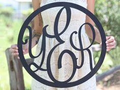 58% savings: His. Hers. Ours. Mark a special occasion or new beginning with this custom wall art:  • $25 ($60 value) for a personalized...