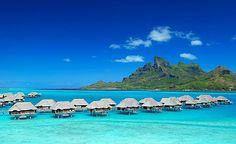 Bora Bora, French Polynesia  My dream destination.