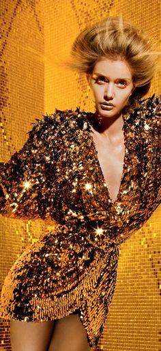Gold rush v dress pants