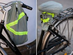 Bike Seat Cover Shopping Bag | via Quirky