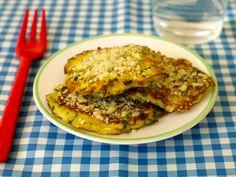 Zucchini Parmesan Cakes