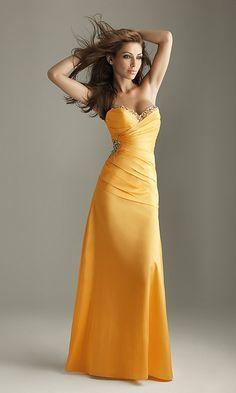 Strapless Prom Dress B Night Moves