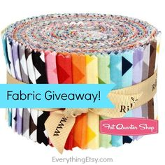 Fabric Giveaway from Fat Quarter Shop - Woot...win a $75 gift certificate! EverythingEtsy.com #fabric #sewing #giveaway #quilting