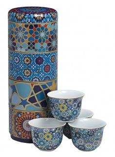 Images d'Orient Moucharabieh Porcelain Espresso Cups
