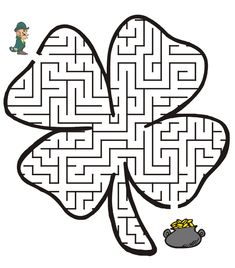 St Patrick's Day | St. Patrick's Day Coloring Pages St_Patricks_Day_Maze – Kids Cute ...