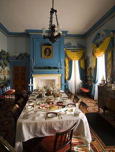 Interior design georgian federal