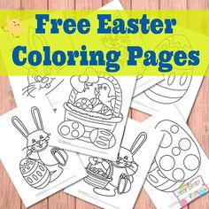 Easter Coloring Pages - Free Printable