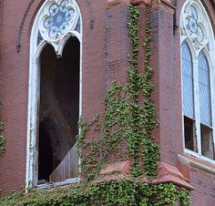 Abandoned church, St Louis, MO