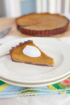 Grain-Free and Dairy-Free Pumpkin Pie