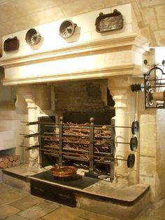 kitchen at Chateau de Chenonceau…