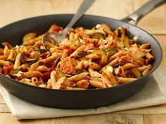 Healthified Mediterranean-Style Chicken and Pasta