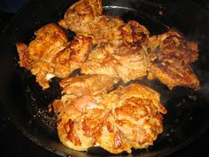 Copy cat Chipotle chicken, It's awesome, i've made it and will continue to!