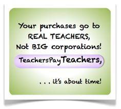 I love Teachers Pay Teachers! :)