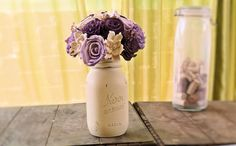 This piece is custom and made to order. This listing represents a sample.... current turnaround time for bouquets is 12+ weeks from the time of purchase. I recommend contacting me prior to purchasing so we can discuss the details of your custom flowers.  This listing is for a small flower arran...