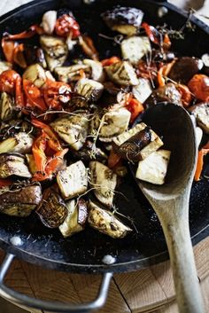 Oven Roasted Ratatouille- I have been looking for an eggplant dish!