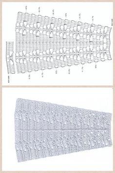 ABC Knitting Patterns - American Girl Doll Lace Skirt.