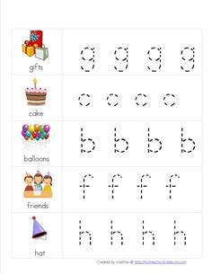 Free Birthday Preschool Pack