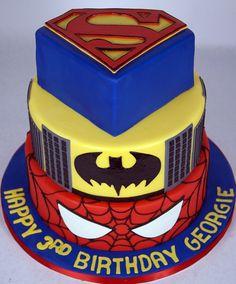 super-hero-cake-toronto by www.fortheloveofcake.ca, via Flickr