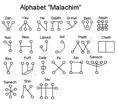 Malachim: Language of Angels.