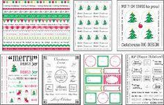 FaveCrafts Giveaway:  Christmas Sticker Kit  Giveaway ends November 30th!