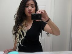 short dark brown with blonde underneath | want to dye my hair kinda light brown on top and blonde underneath ...