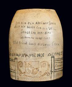 F.T.Persons Stoneware Yale Mug