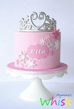 Princess Frozen cake - by Mumma's Whisk