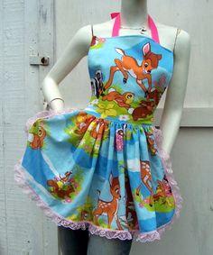 retro bambi apron