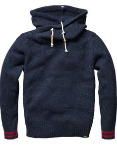 chunky, architectural hoodie