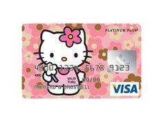 CREDIT CARD HELLO KITTY | Teen Fashion: Hello Kitty Credit Cards
