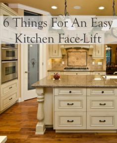 6 things for an easy kitchen face lift