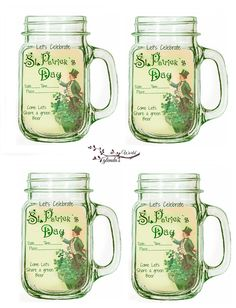 Free-download-print  St. Patrick's Day Party Invitations