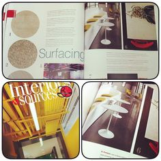 Don't miss this month's issue of Interiors & Sources! The Surfacing article on page 42 highlights Formica Solid Surfacing and eSeries! #green #formica #solidsurfacing #recycled #design #material