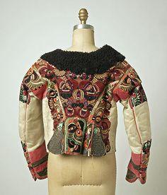 Back side of lamb skin jacket