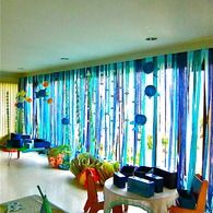 Streamers - Matthew Parker Events - events - Coral Reef Birthday