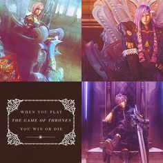 The Game of Thrones...Final Fantasy Style
