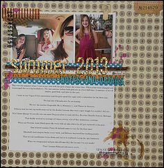 my summer scrapbooking series continues on the @Simon Says Stamp blog